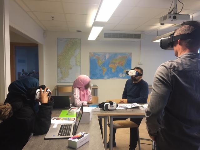 Redovisning i VR